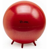 "22"" Sit 'n' Gym Plus Ball in Red"