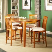 Shaker 5 Piece Counter Height Dining Set