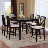 Montreal 7 Piece Counter Height Dining Set