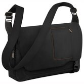Verb Grow Expandable Messenger Bag in Black