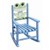 Sunny Safari Frog Kid's Rocking Chair