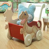 Dinosaur Kingdom Children's Wheels Push Cart