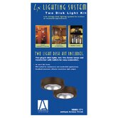 Ambiance Disk Light Kit with Housing in Painted Antique Bronze