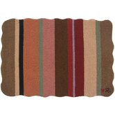 Yipes Stripes: 2' x 3' - Brown Rug