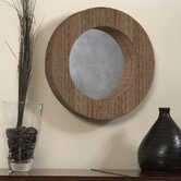 Waterhyacinth Round Mirror