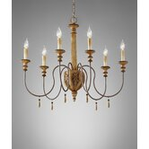 Annabelle 6 Light Chandelier