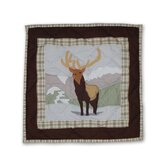 Brown Elk Toss Pillow