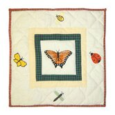 Bug Garden Toss Pillow
