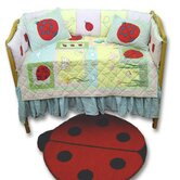 Ladybug Crib Bedding Collection