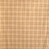 Brown Plaid Toss Pillow