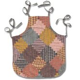 Harvest Log Cabin Apron