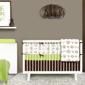 George 4-Piece Crib Bedding Set
