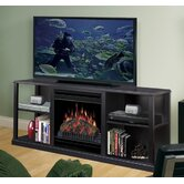 "61"" Cornet TV Stand with Electric Fireplace"