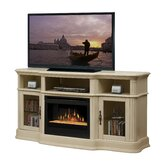 "Portobello 68"" TV Stand with Electric Fireplace"