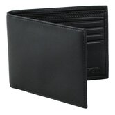 8 Pocket Wallet in Nappa Onyx