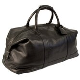 "Churchill 24"" Leather Carry-On Duffel"