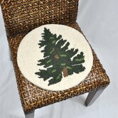 Tree Wool Hooked Chair Pad