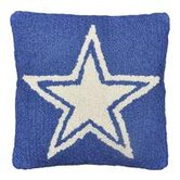 Star Decorative Pillow in Blue