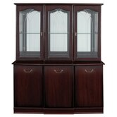 York Buffet Display Unit in Mahogany