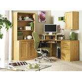 Home Office Corner Unit Combination