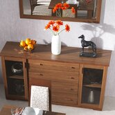 Huxley 4 Drawer Glazed Sideboard