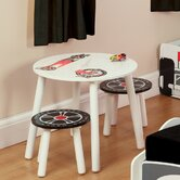 Speed Racer Table and Two Stools