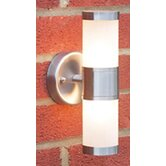 Kamus Wall Lantern in Stainless Steel