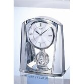 Silver Swing Clock