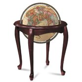 Queen Anne Antique World Globe
