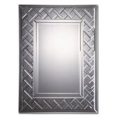 Cleavon Mirror with  a Lattice Design
