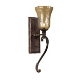 Galeana  Wall Sconce in Antique Saddle
