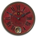 Villa Tesio 11&quot; Weathered Laminated Clock