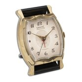 Wristwatch Alarm Square Grene Clock