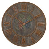 Levante Clock in Light Gray Wash