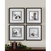 "Look into My Eyes Wall Art By Grace Feyock - 21.5"" x 21.5"" (Set of 4)"