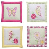 Girls Stripes and Plaids 4 Piece Wall Hangings