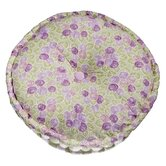 Flower Basket Floor Pillow in Lilac / Green