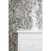 Wild Flower Wallsmart Wallpaper in Bronze