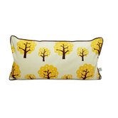 Dotty Kids Organic Cotton Pillow in Yellow