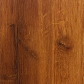 High Gloss 10mm Click Lock Hawaiian Koa Laminate with Underlayment in Caramel