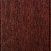 "4-3/4"" HDF Click Lock Engineered Strand Woven Bamboo in Cherry"
