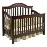 Jayden 4-in-1 Convertible Crib with Toddler Rail in Espresso