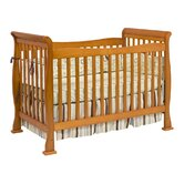 Reagan 4-in-1 Convertible Crib with Toddler Rail in Oak
