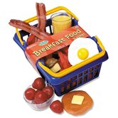 Pretend and Play Breakfast Foods Basket