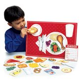 Pretend and Play Magnetic Healthy Foods
