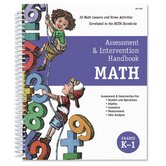 Assessment and Intervention Handbook: Math, Grades K-1