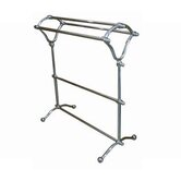 Vintage Pedestal Y-Type Towel Rack
