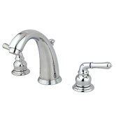 Widespread Bathroom Faucet with Double Modern Lever Handles