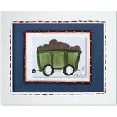 Transportation Railcar Framed Giclee Wall Art