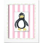 Pandas and Penguins Penguin Giclee Wall Art